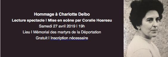 Hommage à Charlotte Delbo