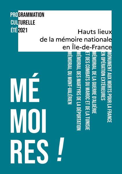 RÉOUVERTURE DES HAUTS LIEUX DE LA MÉMOIRE NATIONALE EN ÎLE-DE-FRANCE